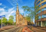 In Eindhoven haben Sie zahlreiche Möglichkeiten zum Einkaufen und Besichtigen von Sehenswürdigkeiten.