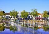 Der Hill Square liegt in der Innenstadt von Tilburg und ist ein beliebter Ort bei Einheimischen und Touristen.