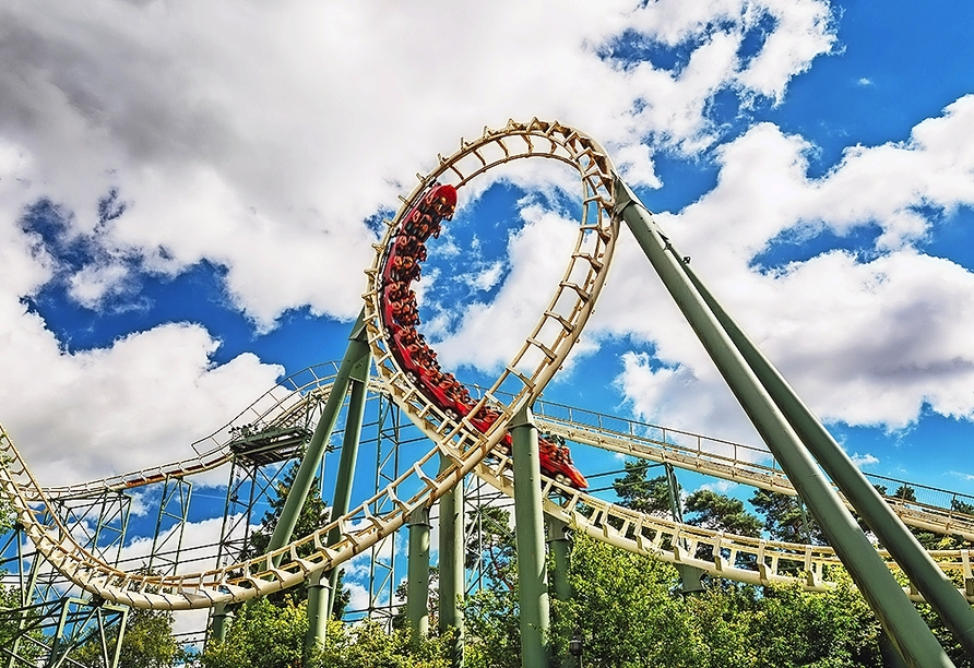Der beliebte Freizeitpark Efteling befindet sich nur ca. 600 m von Ihrem Hotel entfernt.