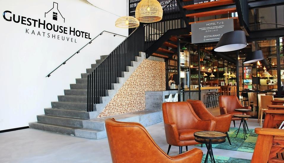 Das GuestHouse Hotel Kaatsheuvel hat einen ganz eigenen, modernen und gleichzeitig gemütlichen Charme.