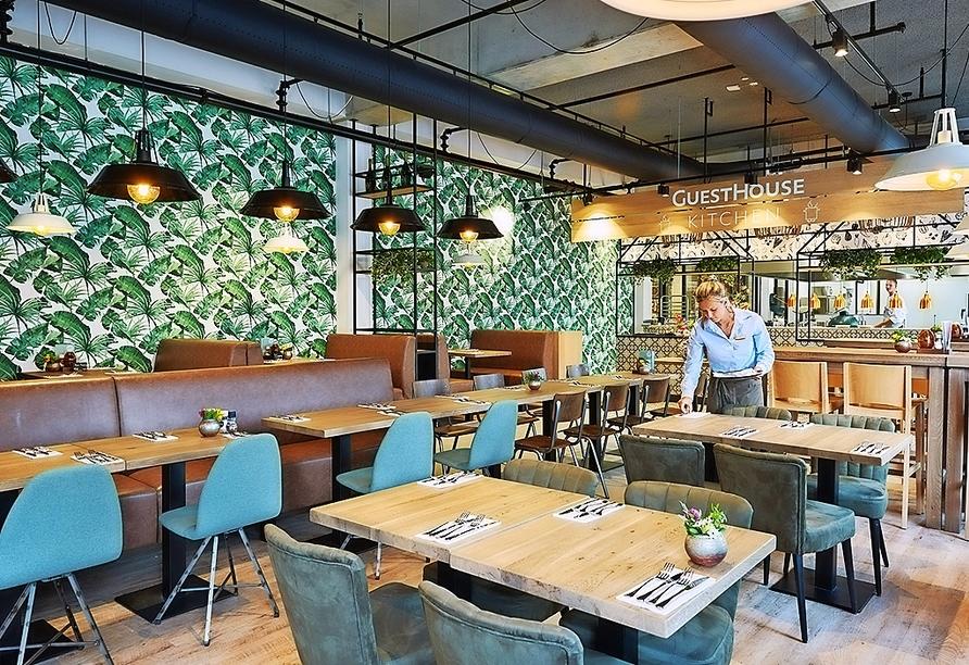 Das GuestHouse Hotel Kaatsheuvel setzt auch in seiner Küche auf Nachhaltigkeit.