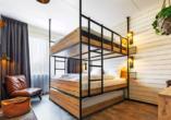 Beispiel eines Zimmers im GuestHouse Hotel Kaatsheuvel