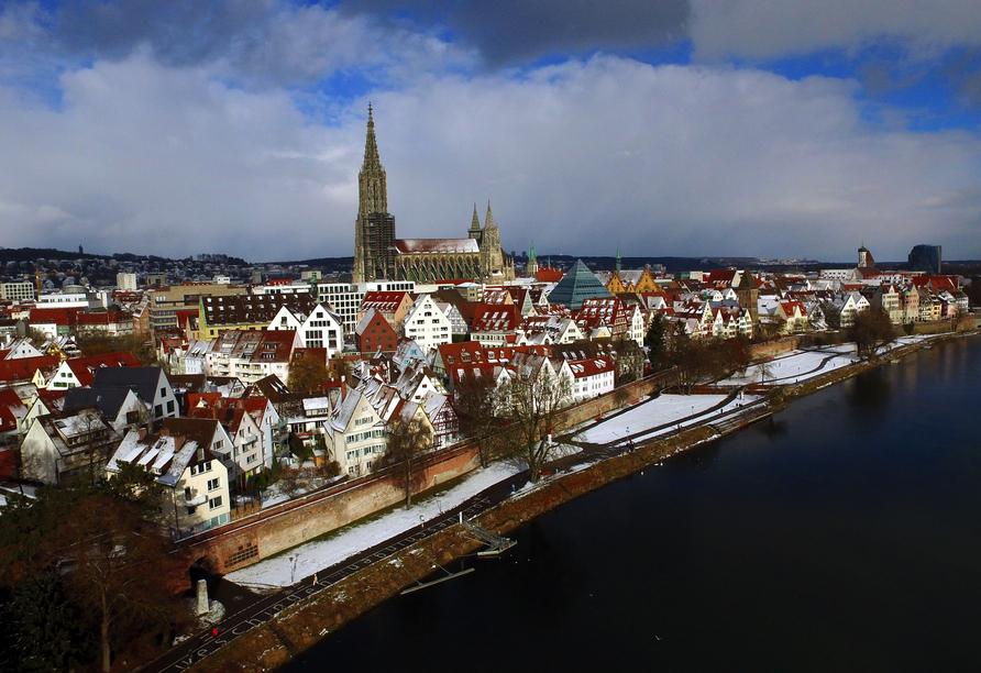 Ulm ist zu jeder Jahreszeit einen Besuch wert.