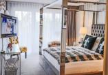 Beispiel eines Doppelzimmers Deluxe im Waldhotel Luise
