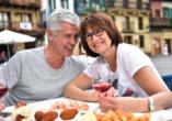 Gemütliche Cafés und Restaurants laden zu schönen Stunden ein.