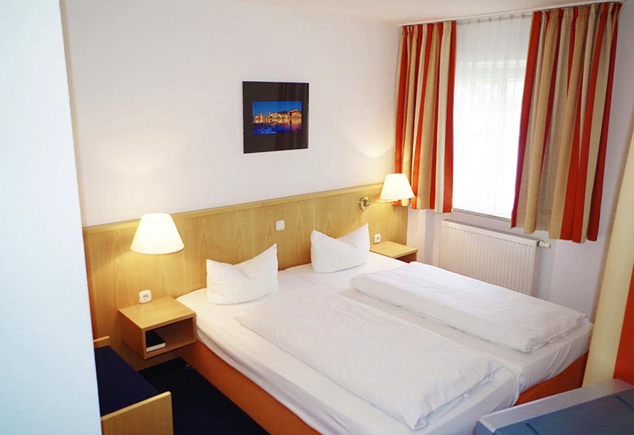 Beispiel eines Doppelzimmers im IBB Passau Süd