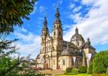 Die Barockstadt Fulda ist mit ihren vielen Sehenswürdigkeiten einen Besuch wert.
