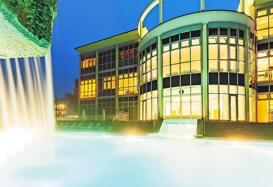 Im Vital Spa & Garden des Hotels verbringen Sie erholsame Stunden.