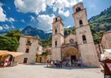 Die Kathedrale Sveti Trifun ist für viele die schönste Kirche von Kotor.