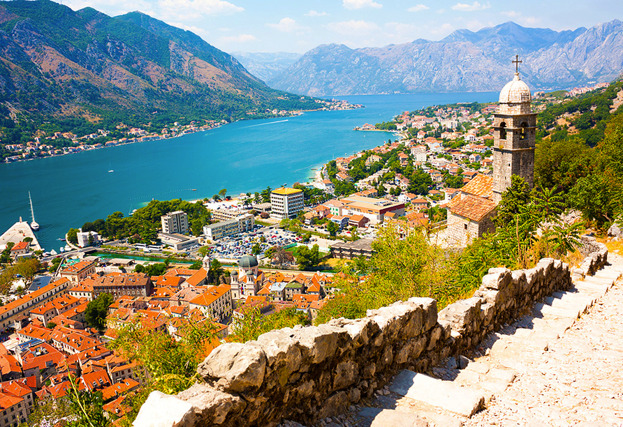 Freuen Sie sich auf einen Ausflug nach Kotor.
