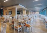 Im Restaurant des Hotel Bijela Delfin werden Sie mit schmackhaften Speisen verwöhnt.