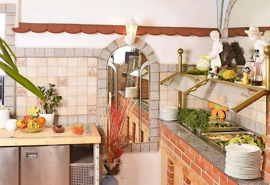 Lassen Sie sich das Frühstück im Seebauer Hotel die Ente von Wassertrüdingen schmecken!