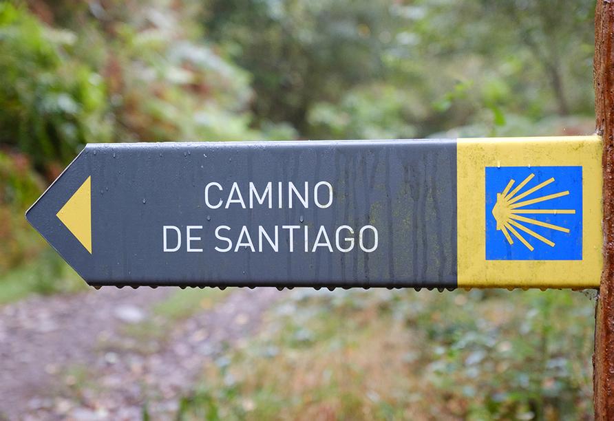 Freuen Sie sich auf die spannende und abwechlungsreiche Wanderung auf dem Jakobsweg, auch Camino de Santiago genannt.