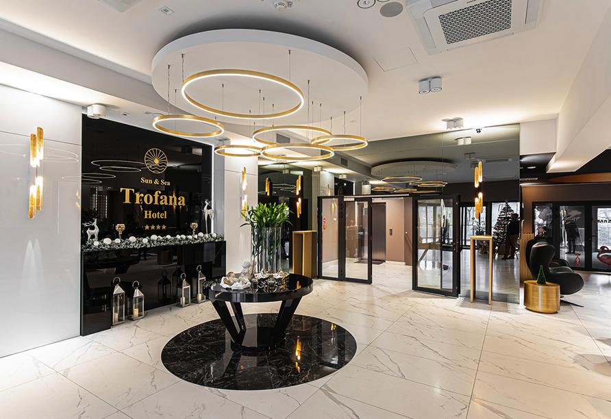 Hotel Trofana, Misdroy, Polnische Ostsee, Lobby