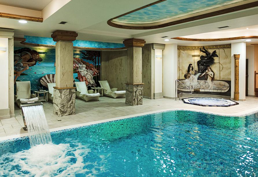Hotel Trofana Wellness & Spa in Misdroy, Polnische Ostsee, Hallenbad