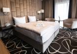Hotel Trofana, Misdroy, Polnische Ostsee, Zimmerbeispiel