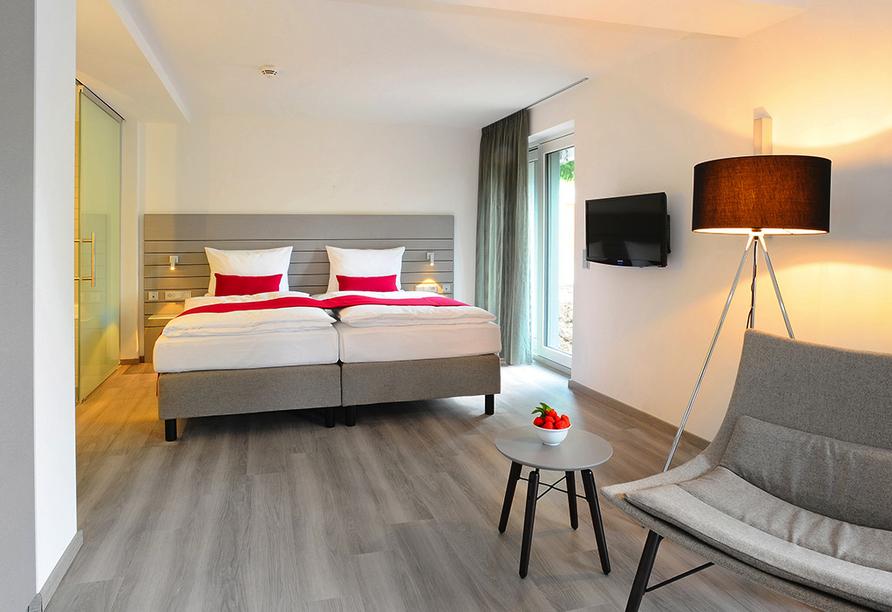 Beispiel eines Doppelzimmers Deluxe