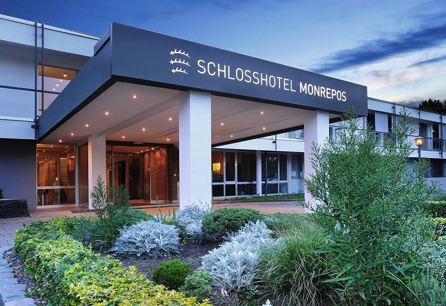 Freuen Sie sich auf einen schönen Urlaub im Schlosshotel Monrepos in Ludwigsburg!