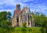 Die Johanniskirche am Feuersee ist ein Architekturhighlight im Stuttgarter Westen.
