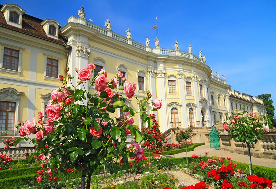 Das Residenzschloss Ludwigsburg ist eines der größten im Original erhaltenen barocken Bauwerke in Europa.