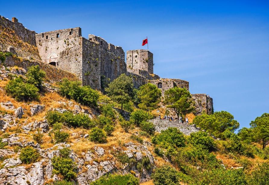 Rundreise durch Albanien, Rozafa in Shkodra