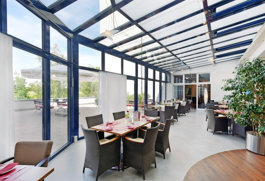 AMEDIA Hotel Dresden Elbpromenade, Restaurant
