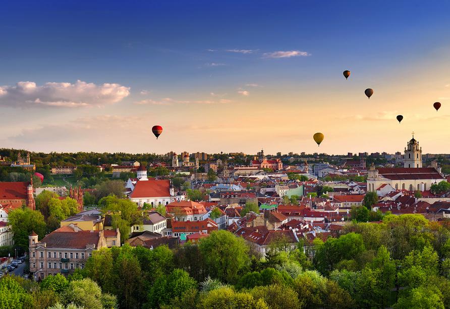 Erlebnisreise-Litauen-Lettland-Estland, Vilnius