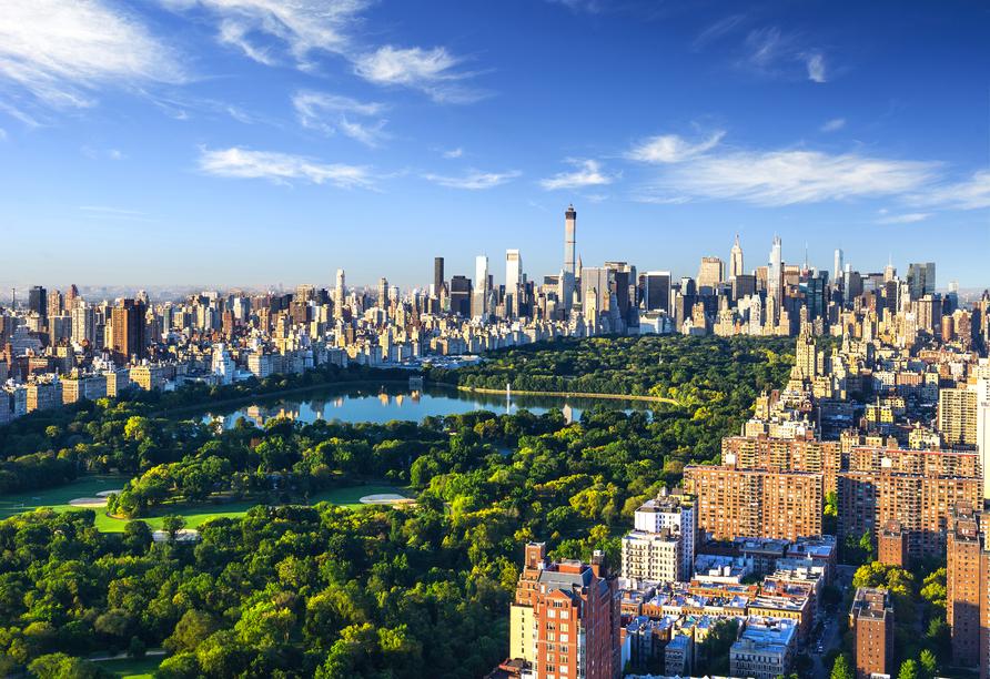 Mit 345 Hektar ist der Central Park zweimal so groß wie das Fürstentum Monaco.