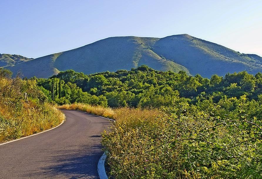 Der Pantokrator ist der höchste Berg der Insel Korfu.
