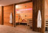 Lifthotel Aschaber in Kirchberg, Österreich, Finnische Sauna
