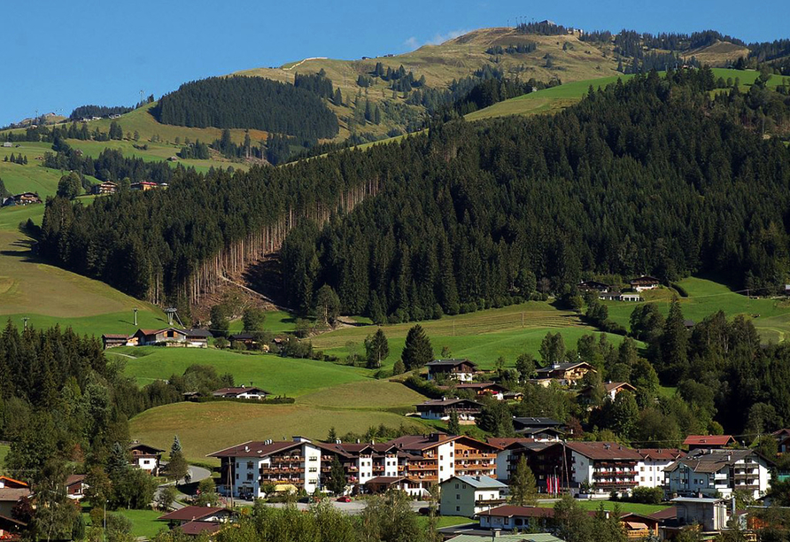 Lifthotel Aschaber in Kirchberg, Österreich, Kirchberg