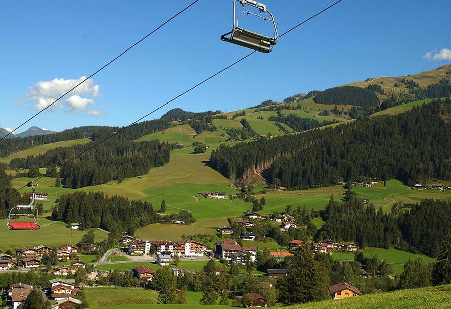 Lifthotel Aschaber in Kirchberg, Österreich, Lift