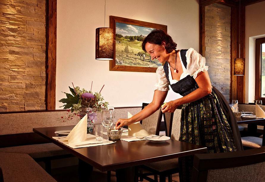 Lifthotel Aschaber in Kirchberg, Österreich, Restaurant