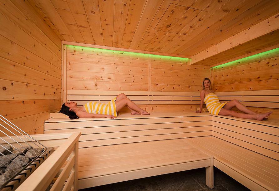 Lifthotel Aschaber in Kirchberg, Österreich, Sauna