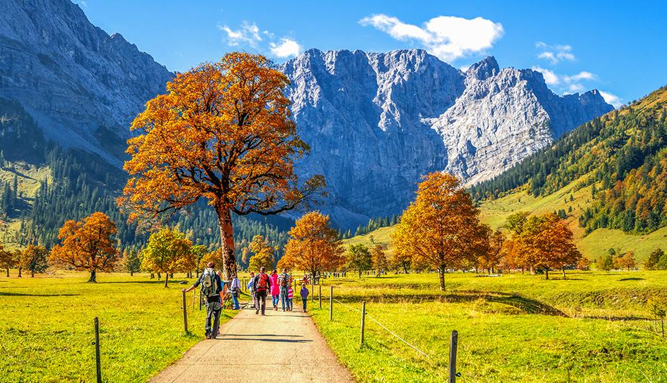 Lifthotel Aschaber in Kirchberg, Österreich, Wandern Herbst