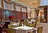 Restaurant im Beispielhotel Queen's Astoria Design Hotel.