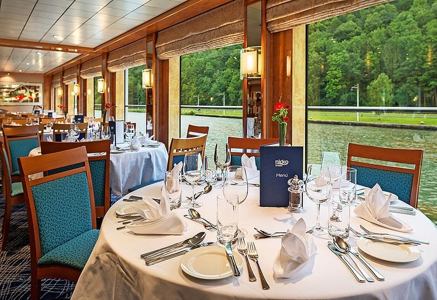 MS Maxima, Panorama-Restaurant