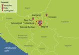 Reisezielkarte Balkan-Rundreise