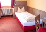Beispiel eines Einzelzimmers im Hotel Löwen