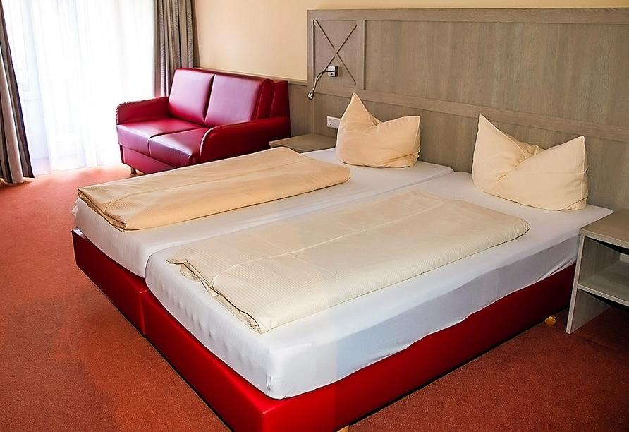 Beispiel eines Doppelzimmers im Hotel Löwen