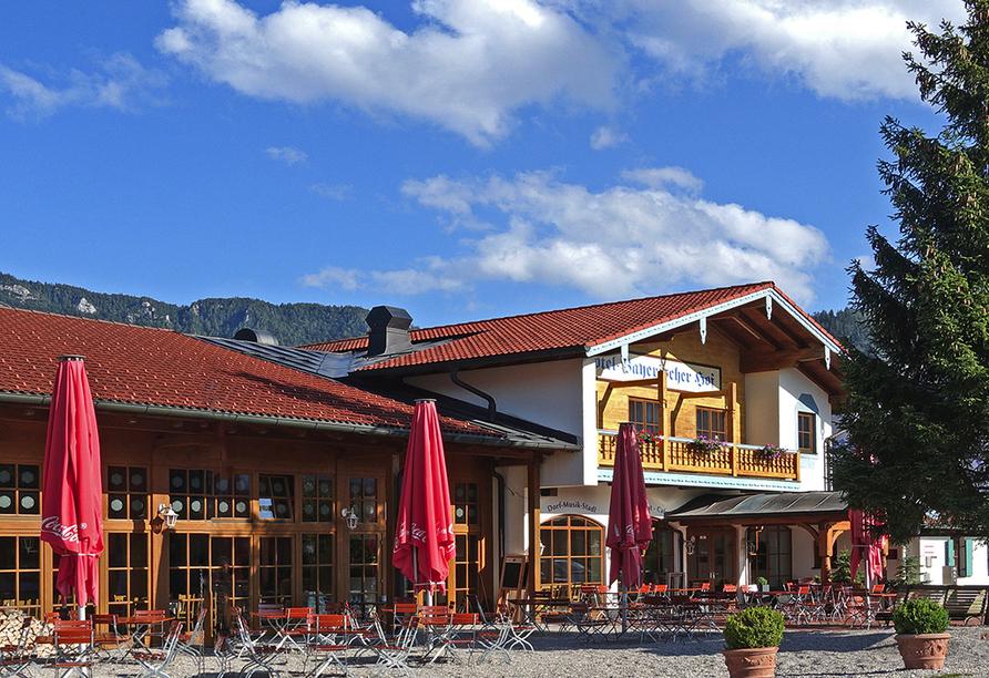 Das Bergmayr - Chiemgauer Alpenhotel, Außenansicht