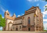 Das Breisacher Stephansmünster ist eine romantisch-gotische Kirche und Wahrzeichen der Stadt.