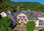 Außenansicht des Häcker's Fürstenhof in Bad Bertrich