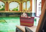 Genießen Sie entspannte Stunden im Wellnessbereich des Häcker's Fürstenhof.