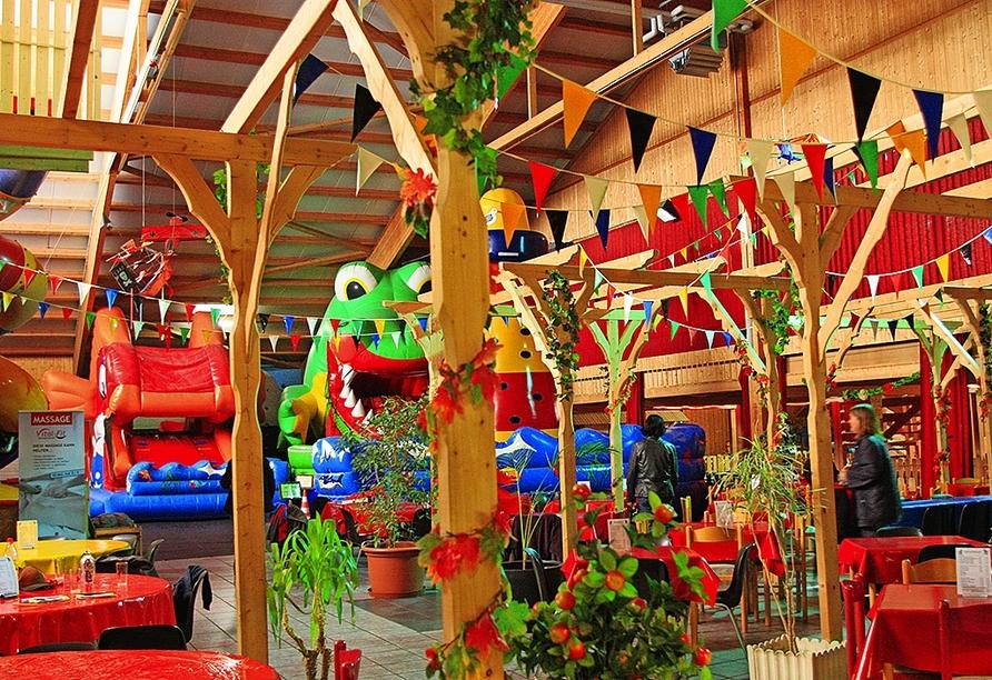 Das Indoor-Spielparadies Frielo-Land ist ein Spaß für die ganze Familie.