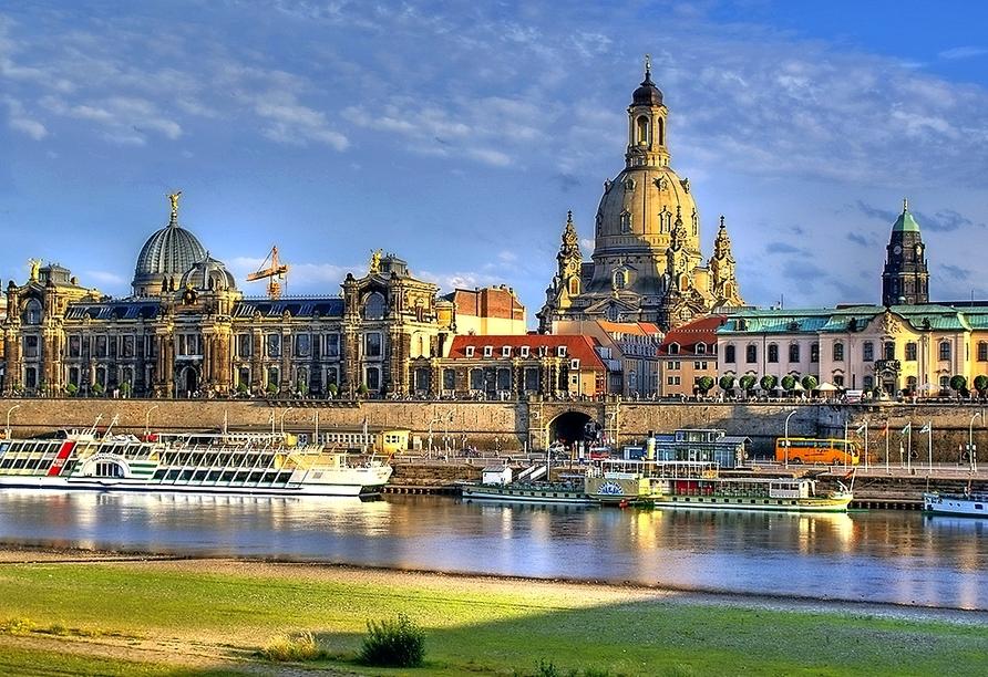 Maritim Hotel Dresden, Stadtansicht Dresden