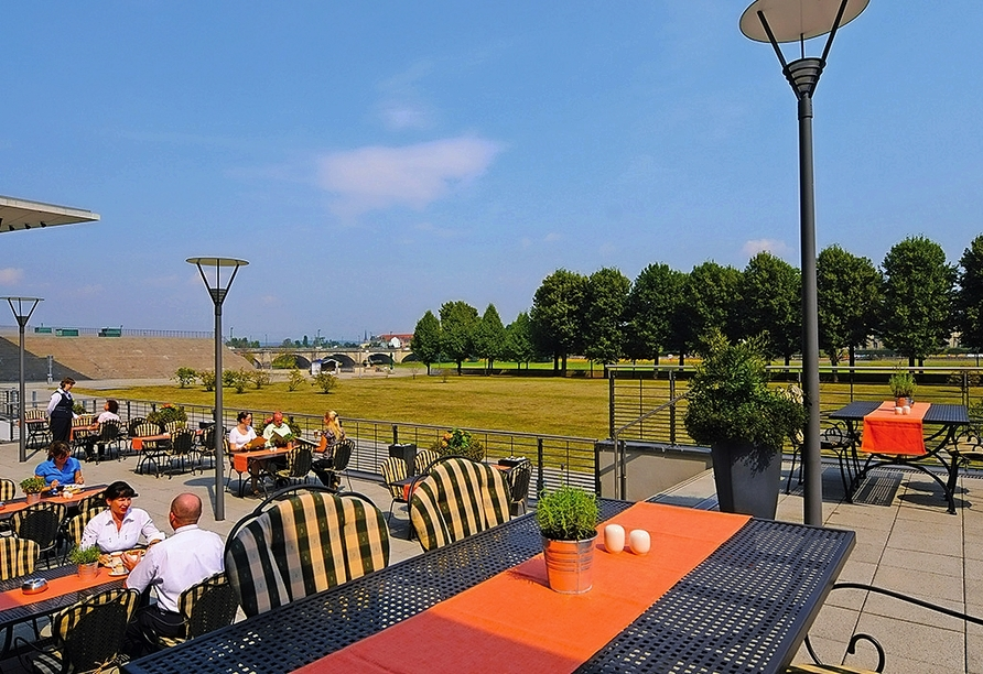 Maritim Hotel Dresden, Terrasse