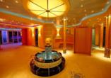 Die Sauna im Hotel Hochsauerland 2010.