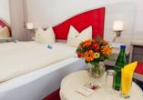 Zimmerbeispiel im Hotel Hochsauerland 2010.