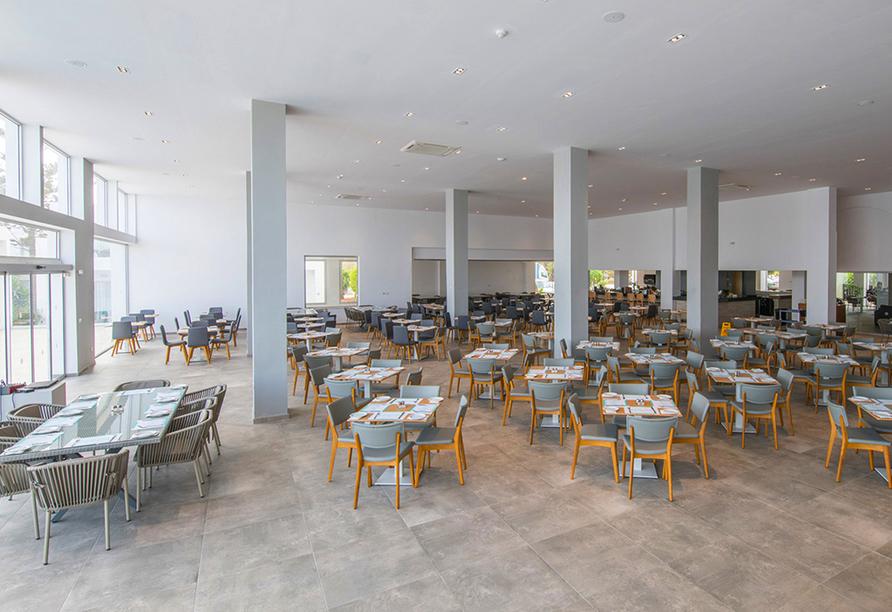 Das Restaurant verwöhnt Sie mit schmackhaften regionalen und internationalen Speisen.